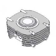 Assieme Cilindro EKL Easykart 60cc, MONDOKART, Pistone &