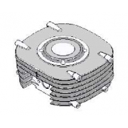Cylinder 60cc Easykart EKL, MONDOKART, Piston & Cylinder EKL
