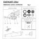 Faserbändchen für Flexible Schalldämpfer Iame, MONDOKART