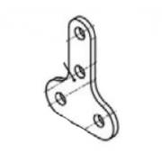 Coil support bracket Iame OK, MONDOKART, Electrical System Iame