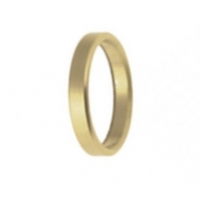 Spacer for spindle 25mm x 0,5cm Gold