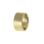 Spacer for spindle 25mm x 1cm Gold, MONDOKART, Front Brake KZ