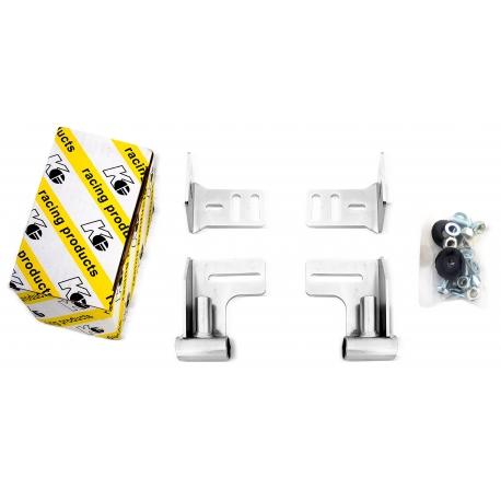 Kit attacco spoiler posteriore minikart KG, MONDOKART, Supporti