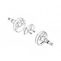 Coppia Semialberi Easykar125cc EKA (fino al 2014) ASSE 18mm