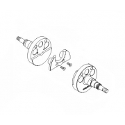 Paar Halbwellen Easykar125cc EKA (bis 2014) ASSE 18mm