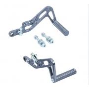 Pedali ricavati dal pieno Alluminio CNC, MONDOKART, kart, go