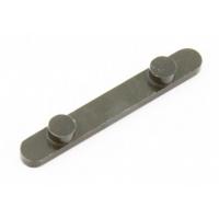 Achskeil mit 2 Pin (D 7,4mm - 34mm INT - H 3 mm)