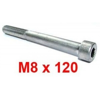 Tornillo M8x120 parachoques trasero CRG