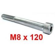 M8x120 screw for the rear bumper CRG, MONDOKART, Rear Bumpers