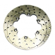 Original rear disc brake PCR, MONDOKART, Brake Discs Generic