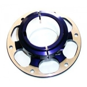 Brake Disc Hub rear aluminum PCR, MONDOKART, Disc / Sprocket