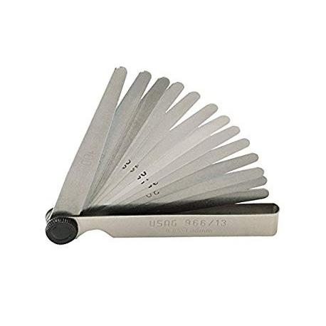 Spessimetro 20 Lame 0,05mm - 1,00mm, MONDOKART, kart, go kart