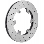 Rear brake disc 206 x 16 mm OTK TonyKart, MONDOKART, OTK brake