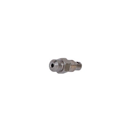 Discharge Plug Ø 7 x 1 mm with bleed passage caliper OTK