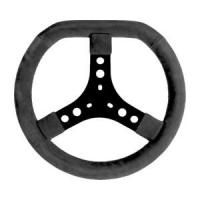 Volante scamosciato nero (320 mm) standard