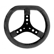 Steering Wheel Black (320 mm) standard, mondokart, kart, kart
