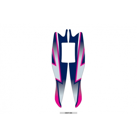 Adhesivo Frontal M7 DRAG Kósmic OTK, MONDOKART, kart, go kart