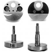 Paar Halb Kurbelwelle TM 60ccm Mini 05 / VO / 20, MONDOKART