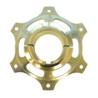 Kettenblattaufnahme 50mm gold MAGNESIUM CRG