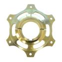 Kettenblattaufnahme 50mm gold MAGNESIUM CRG, MONDOKART, kart
