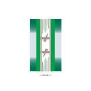 Adesivo Carrello portakart OTK TonyKart cromato, MONDOKART