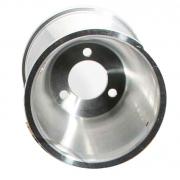 Front Rim 130mm standard (with screws), MONDOKART, Aluminum