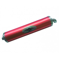 Homologated RED Look KZ Muffler Exhaust Silencer!
