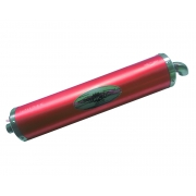 Homologated RED Look KZ Muffler Exhaust Silencer!, MONDOKART