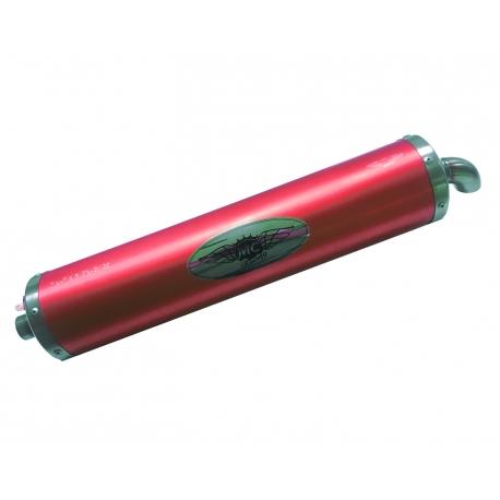 Homologated RED Look KZ Muffler Exhaust Silencer!, mondokart