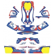 Sticker Kit Bodyworks NA3 Zanardi (type CRG), mondokart, kart