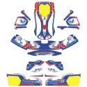 Kit Adhesivos NA3 Zanardi (tipo CRG), MONDOKART, kart, go kart