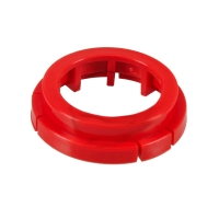 Casquillo de 40 mm rojo centrado (hubs)
