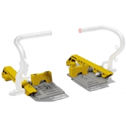 Kit Footrest ADJUSTABLE WITHOUT PEDALS IPK - Praga - Formula K