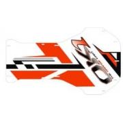 Adesivo Pianale Racing EVO IPK OK1, MONDOKART, Adesivi