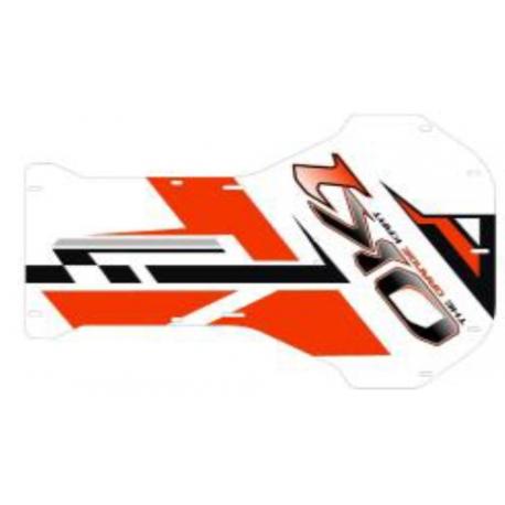 Adhésif Plancher Racing EVO IPK OK1, MONDOKART, kart, go kart