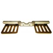 Cale-pieds CRG original AVEC SUPPORT PLATES, MONDOKART, kart