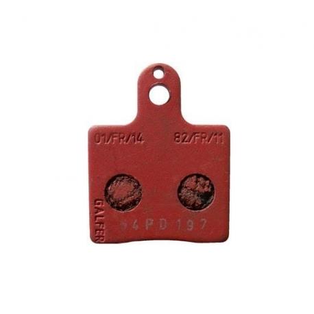 Brake Pad Front RED V05 V09 V10 V11 CRG, MONDOKART, Brake pads