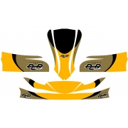 Bodyworks Stickers PCR Mini for KG MK14, mondokart, kart, kart