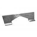 Plattform Fußstützen aus Aluminium, MONDOKART, kart, go kart