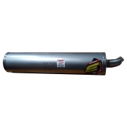 Exhaust Muffler Silencer ELTO TD 3, MONDOKART, Exhausts