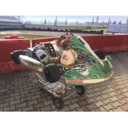Kart complete USED RacerEVR Tony Kart / Reedster KF2
