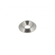 Rondella biconica svasata 6mm argento bancalina, MONDOKART