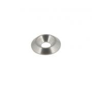 Tornillo Cabeza Conica avellanada 6 mm bicónica plata