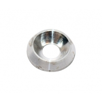 Washer Biconical AL 8 mm silver