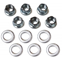 Kit 6 Nuts Douglas M8 for wheel rims