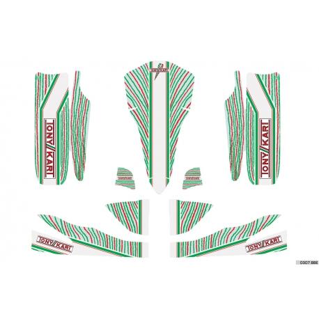 Kit Déco TonyKart OTK 60 Rookie Neos Mini / Baby Mini EXP