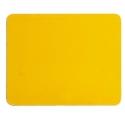 Gelbe Klebeplatte Squared, MONDOKART, kart, go kart, karting