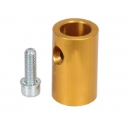 Anodized aluminum Support for seat and muffler, mondokart