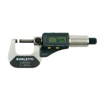 Micrómetro electrónico 0-25mm Borletti