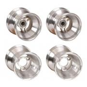 Juego Set Llantas aluminio Mini 109-140 con razas mini / baby